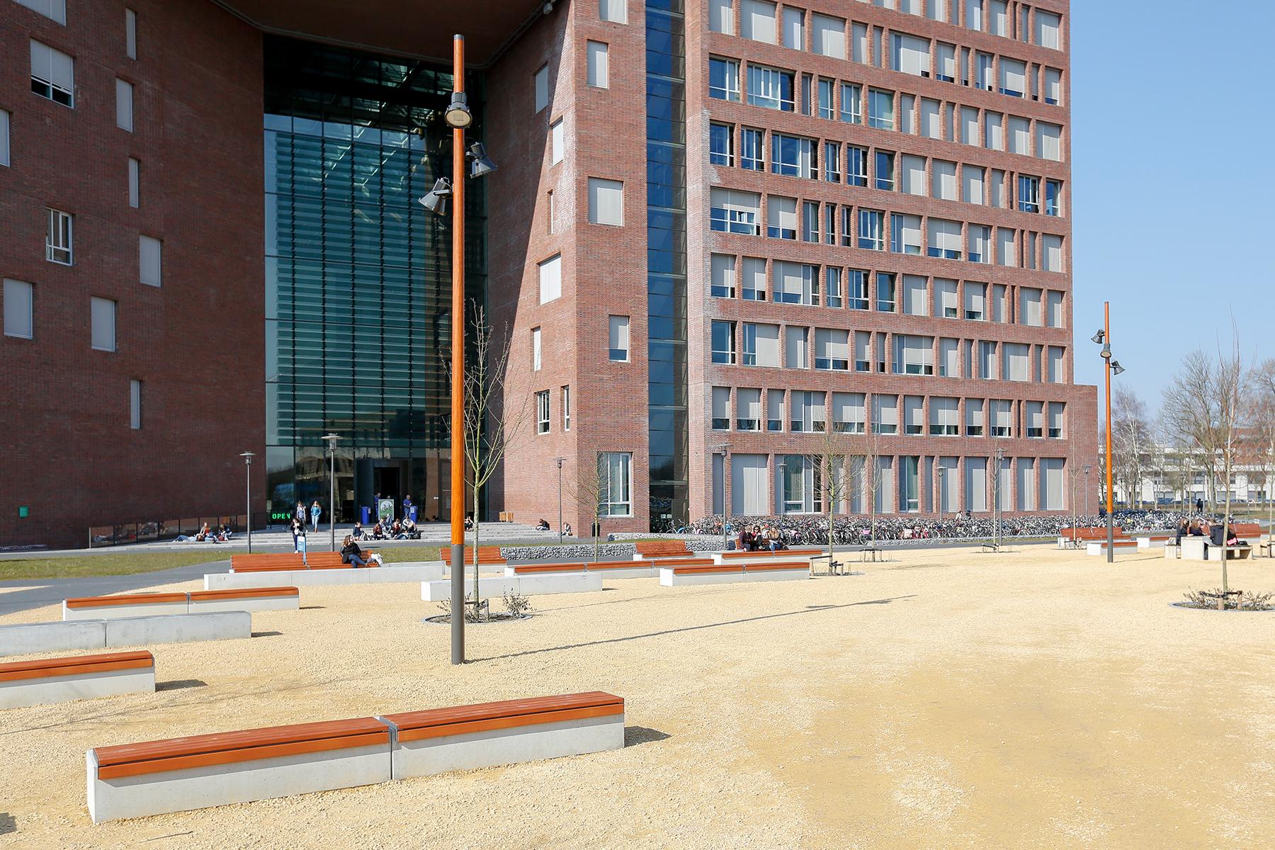 MSN_mast_services_Nederland_project_Universiteit_Wageningen_Campus_Forumgebouw_lichtmasten_01 (1)